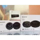 Paquete Autoestéreo Sony Usb Aux Fm/am Con Bocinas 6.5 Y 6x9