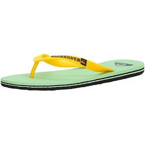 Zapatillas Molokai Flip Flop Balck-green-white Quiksilver