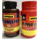 Kit Queimador Ripped Full + Cartamus Full Human Nutrition