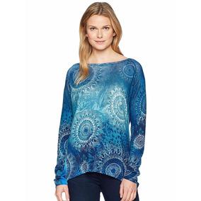 9fea50a25ec Ofertazo Sweater Lineas Horizontales Azules Ropa Mujer - Vestuario y ...