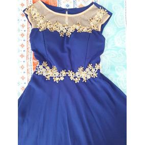 Vestidos largos azul rey mercado libre
