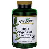 Triple Magnesio Complex 400mg 300 Capsulas Swanson De Eeuu