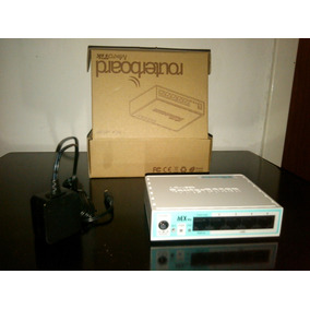 Mikrotik (rb750r2), Router De 5 Puertos Ethernet 10/100 Mbps