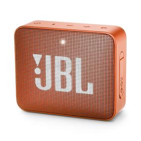 Caixa De Som Portátil Jbl Go 2 Com Bluetooth Laranja