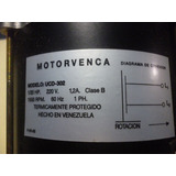 Motor 1/20hp 1 Eje 220v Ucd302 Motorvenca