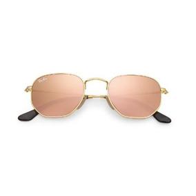 Oculos Feminino Mascu Redondohexa Varias Cores Lente Cristal a8c617a4da