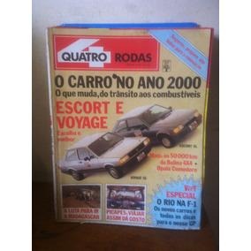 Quatro Rodas Nª 320 Mar / 87 - Escort , Voyage Opala