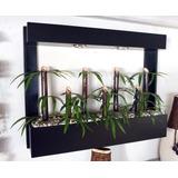 Jardinera Horizontal Colgante De Bambu