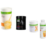 Kit Herbalife Cr7+ Shake + Protein Powder 240g + Fiber Conc.