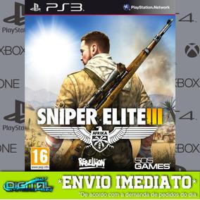 Sniper Elite Ps3 Outros Titulos Jogos Ps3 No Mercado Livre Brasil