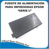 Fuente De Alimentación Epson Serie: L110 L210 L220 L355 L365