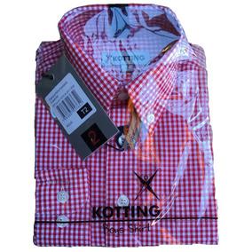 75613bff1c Camisa Cuadrille Roja Hombre - Vestuario y Calzado en Mercado Libre ...