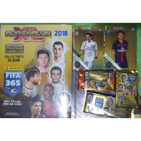 Fifa 365 2018 Adrenalyn Pasta 450 Cards Panini + Envelopes