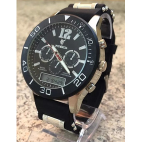 Relógio Militar Masculino Esportivo Cronometro Potenzia