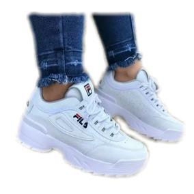 Tenis Zapatos Fila Tractor Para Dama Deportivos cb2e917363a