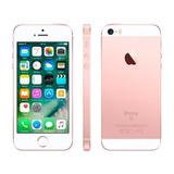 Iphone Se Apple 64gb Ouro Rosa 4g Tela 4-retina Câm. 12m