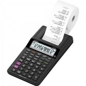 Calculadora C/ Bobina 12 Dígitos Hr-8 Rc Bk - Casio