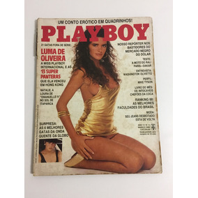 Revista Playboy Luma De Oliveira N 152, Março/88, Rara