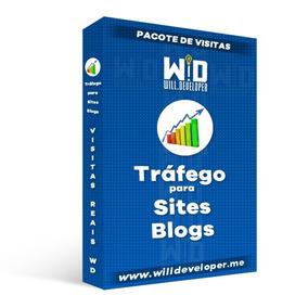 Visitas Para Site E Blog - Tráfego Real - Humano 500.000