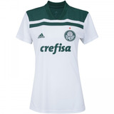 Camisa Feminina Palmeiras adidas Branco 2018 Ii