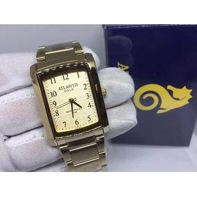 62606aa5e0e Relogio Chili Beans Masculino Quadrado - Relógio Atlantis Masculino ...