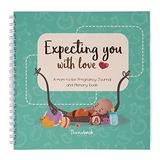 Diario De Embarazo Y Libro De Recuerdos Para Bebes Para Su R
