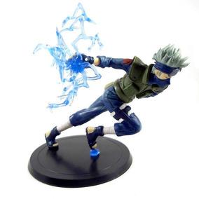 Naruto Action Figure Boneco Kakashi Chidori Ataque