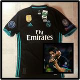 6c4bf7c09a5ac Camiseta Real Madrid Edición Uefa Champions League Original - Fútbol ...