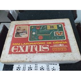 Brinquedo Antigo Mini Laboratório Exitus Estrela P/ Coleção