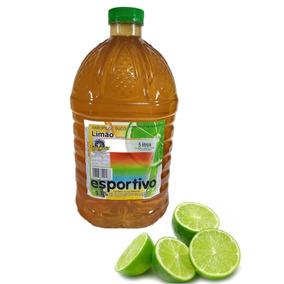 2 Galão De Xarope De Limão Com 5 Litros Ideal Para Bebidas