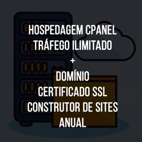 Hospedagem De Site Profissional Cpanel 10gb + Ssl - 1 Ano