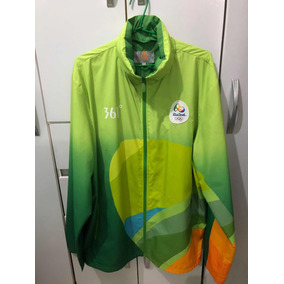 Casaco Olimpíadas Voluntários Verde 361 d94f1b4e7229e