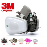 Respirador Máscara Pintura 3m 6200 5n11 501 + 6001 Completa