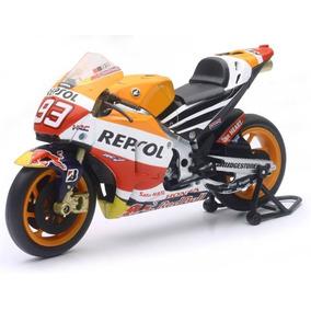 Replica Moto Honda Rc 213v Repsol Team Escala 1:12 Solomoto