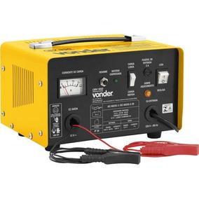 Carregador Bateria 12v Vonder Cbv950 Garras Jacaré - 220v