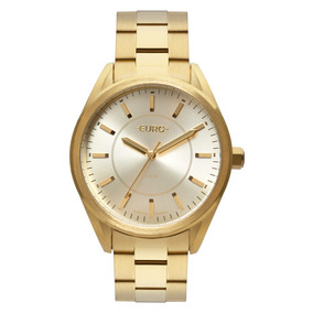 Relógio Euro Dourado Feminino Analógico Eu2035ypz/4d