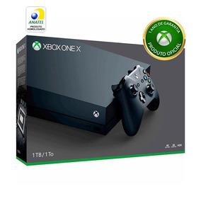 Console Xbox One X 1tb 4k + Controle Sem Fio