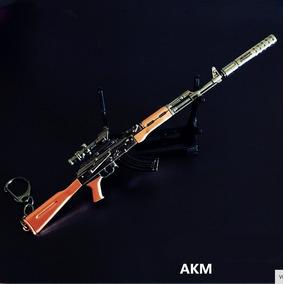 Arma Ak 47 Com Aprox. 18cm, Ak47, Coleção Réplica