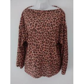 Blusa Zara Animal Print Mujer