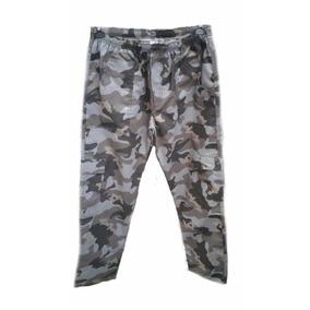 Calça Camuflada Masculino Com 5 Bolso Ripston C Elástico