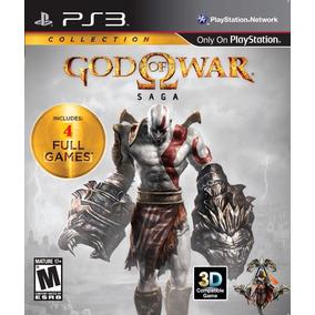 God Of War Saga - H.d. 4 Full Games Ps3 Psn