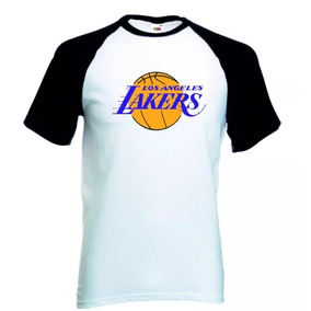 17c63487c Camisa Nba Nike Lakers Camisetas Masculino Manga Curta - Camisetas e ...