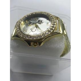 d8f8d098cef Lindo Relogio Feminino Fundo Colorido De Luxo - Relógios De Pulso no ...