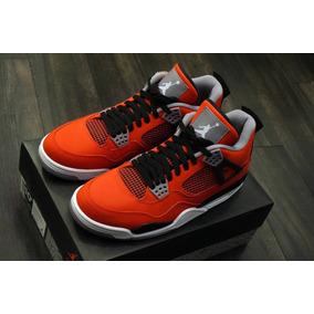 dd529432bb19c Zapatilla Jordan Retro 4 Toro Bravo Hombres Nike - Ropa y Accesorios ...
