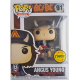 Funko Pop! Original Angus Young #91 Ac/dc Chase Limited Edit