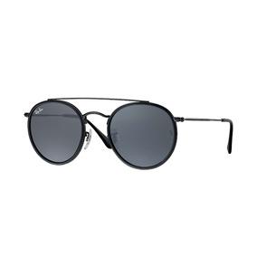 e744960c26 Óculos De Sol Ray-ban Round Double Bridge Rb3647 Promoção