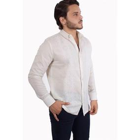Camisa Lino/algodon Paumau Natural