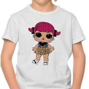 Remera Personalizada Muñecas Lol
