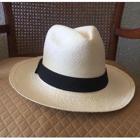 Sombrero Panama Hecho A Mano Nuevo Original Paja Toquilla a12b01e90b3