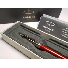 Boligrafo Parker Jotter De Colores Acero + Grabado Incluido
